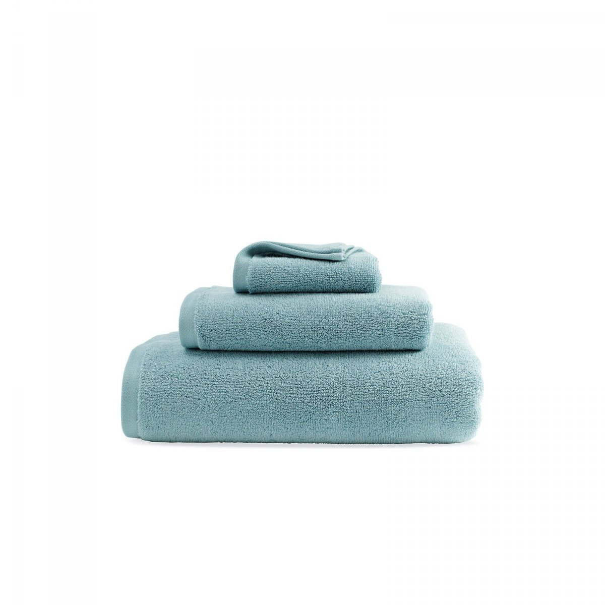 DWR Aerocotton Towels, cyan.