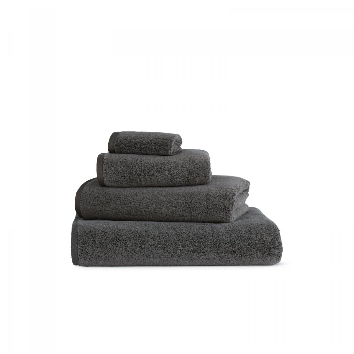 DWR Aerocotton Towels, slate.