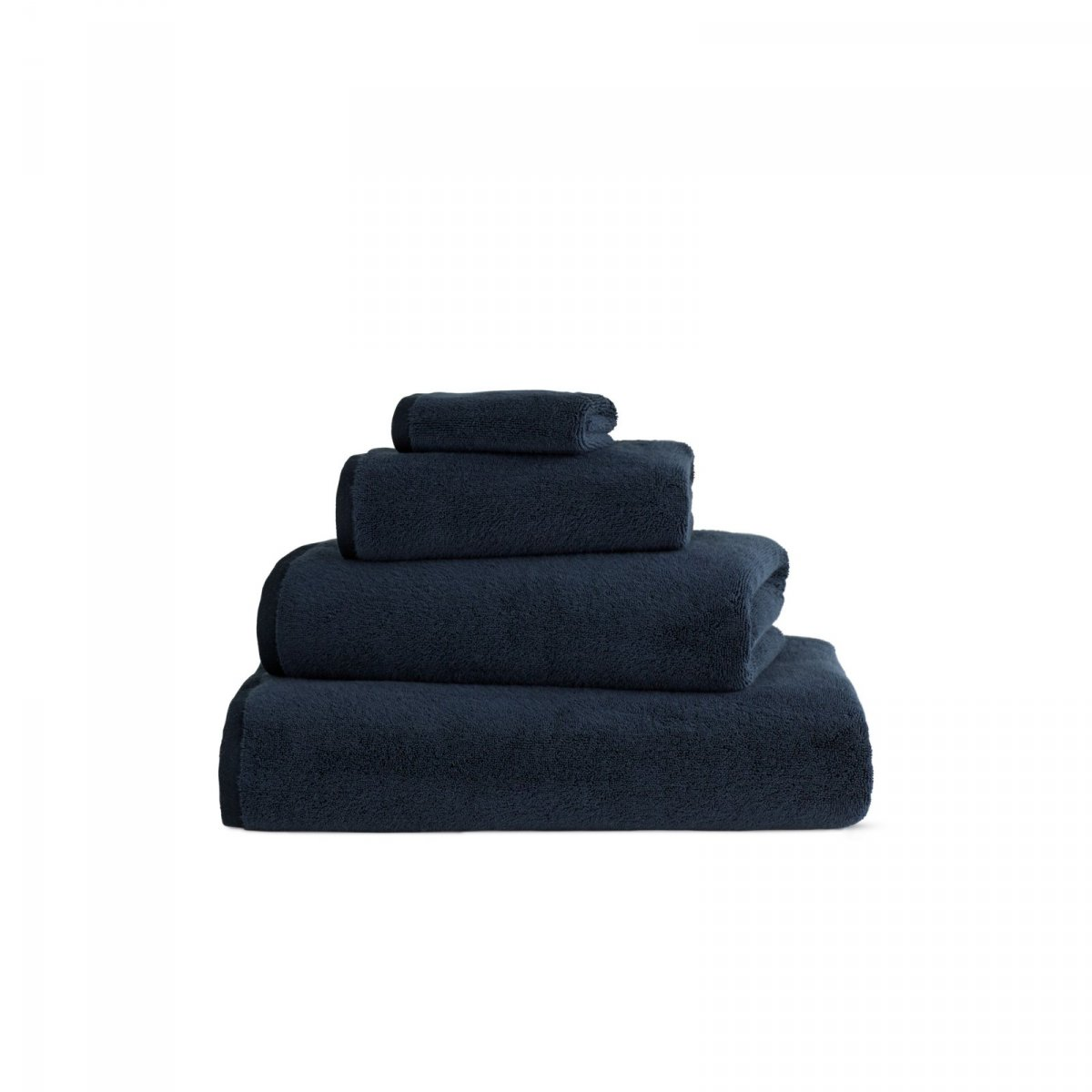 DWR Aerocotton Towels, indigo.