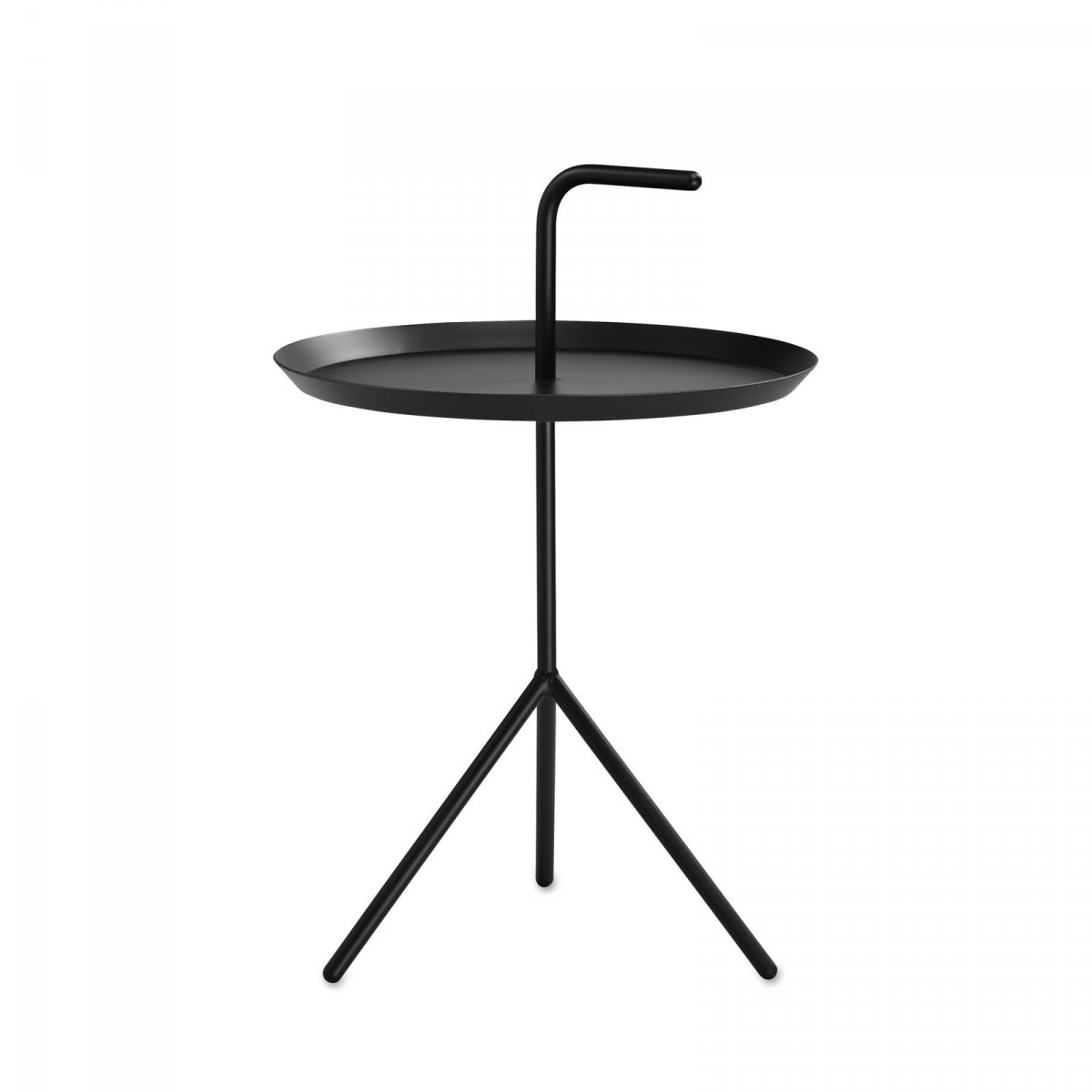 DLM side table, black.
