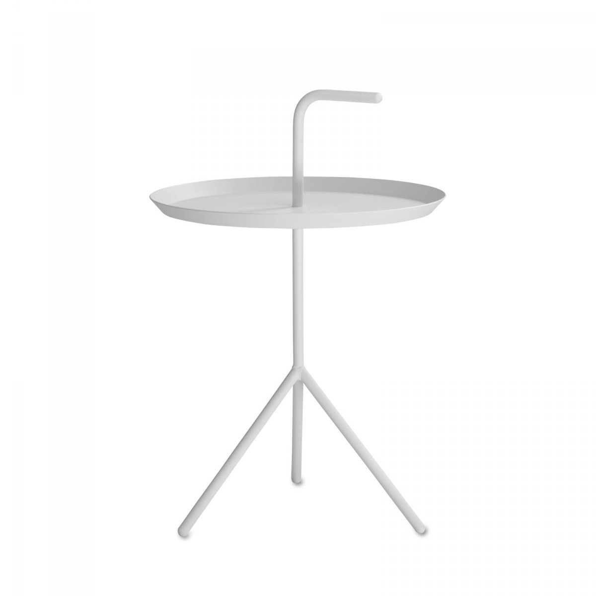 DLM side table, white.