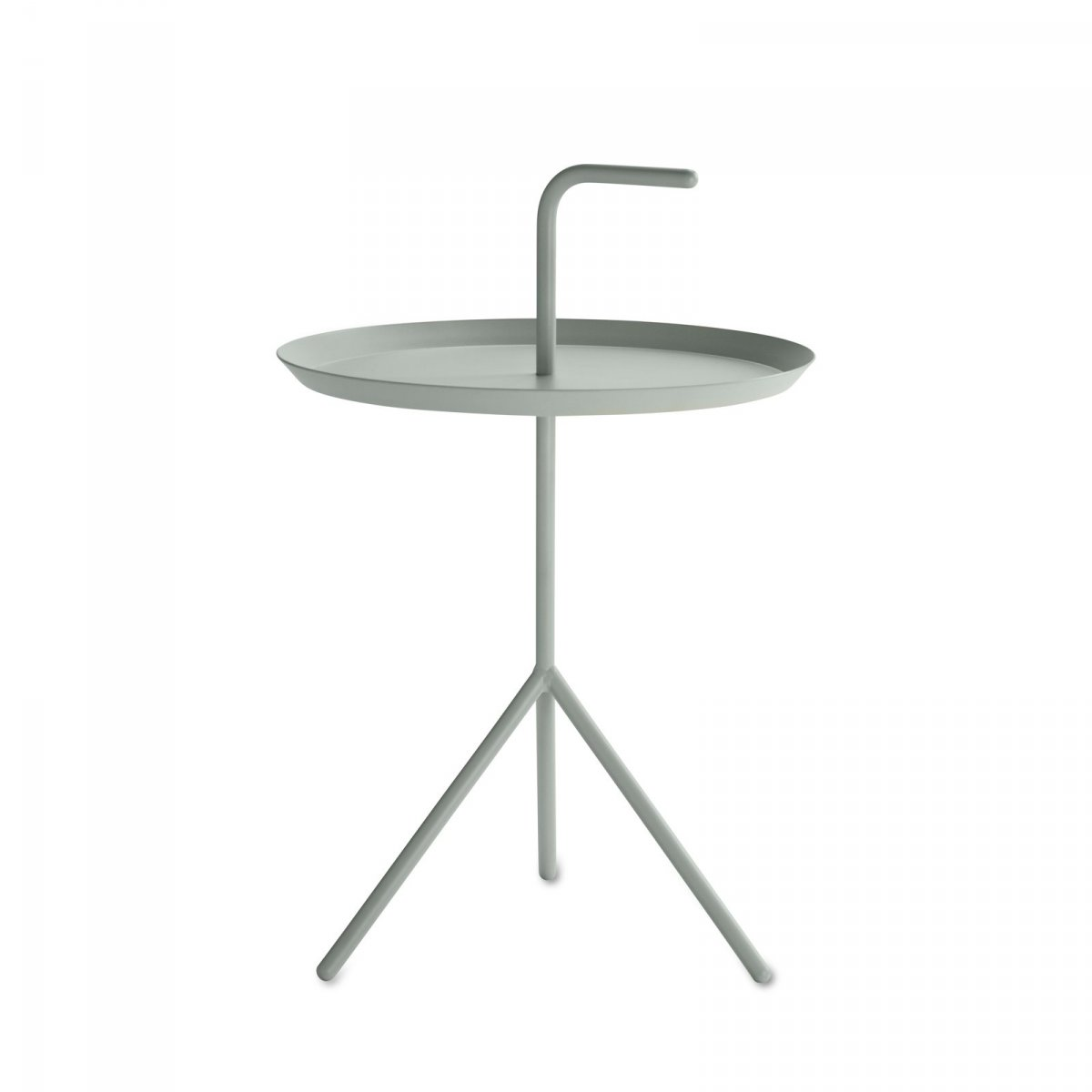 DLM side table, mint.