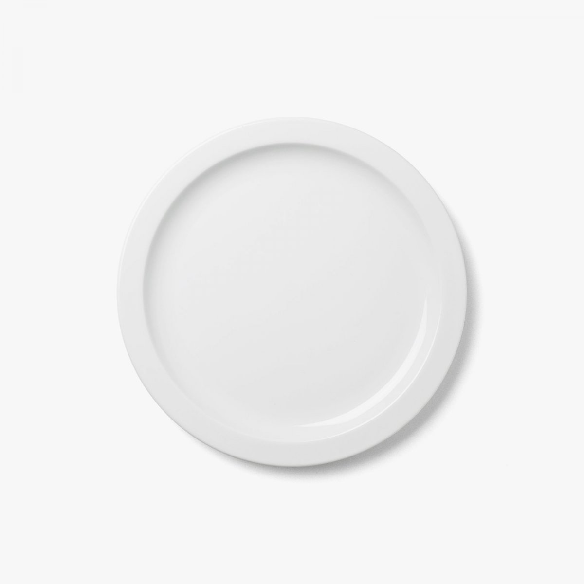 New Norm Dinnerware Plate/Dish, white.