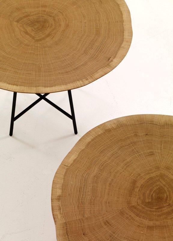 Alburni occasional tables, detail.