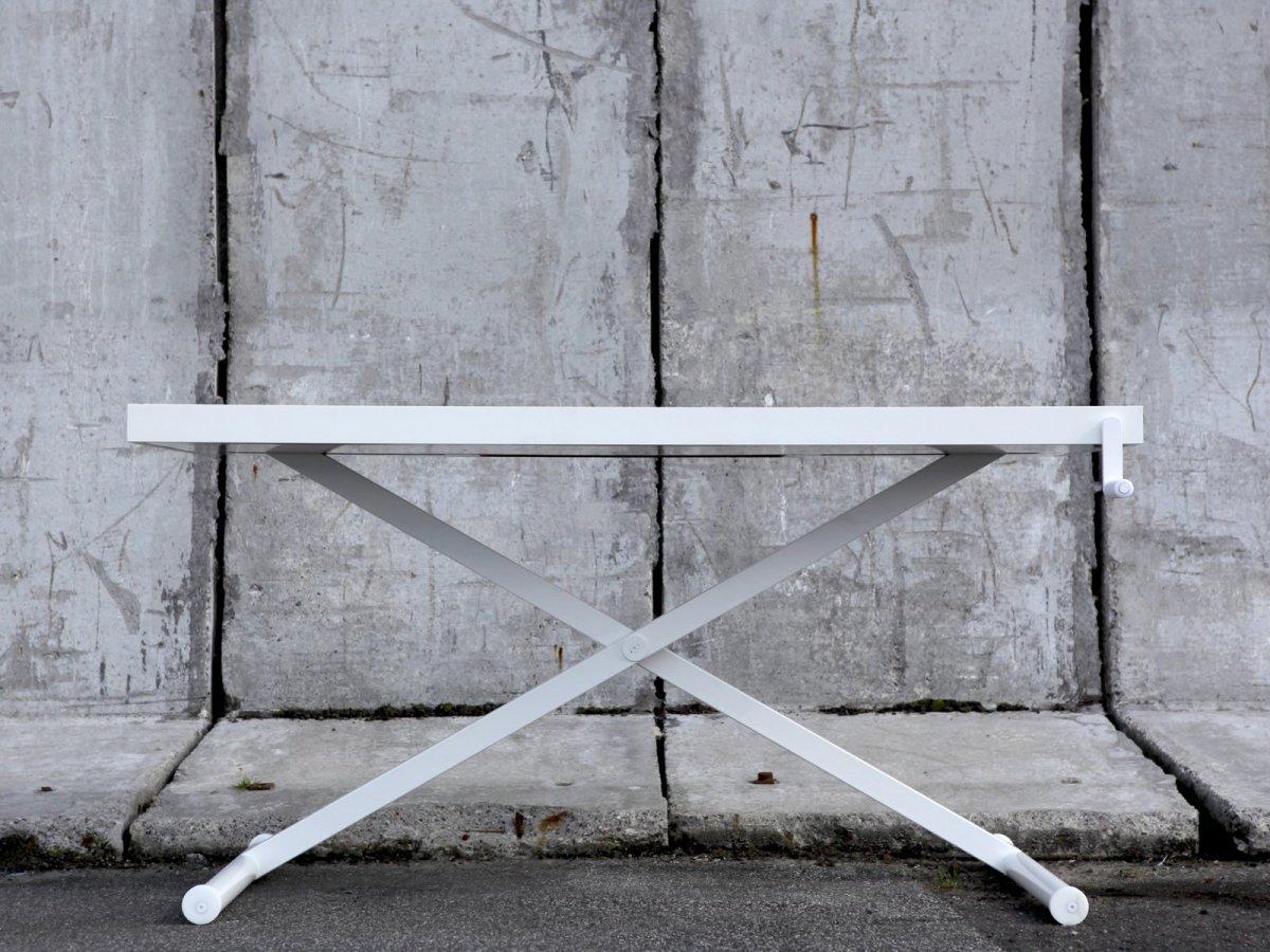 X-Table, white.