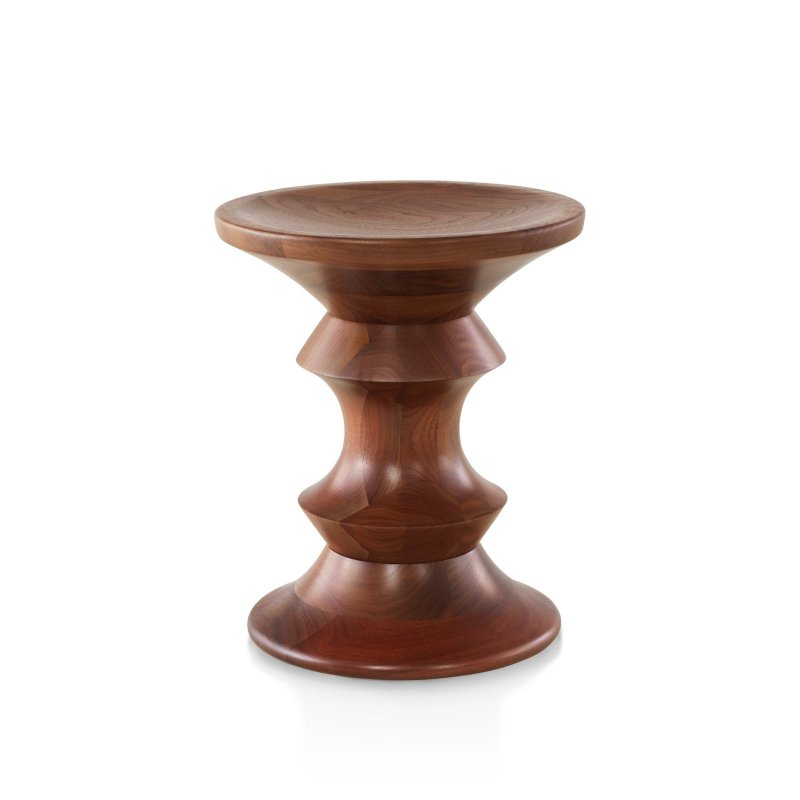 Eames Walnut Stool A Shape