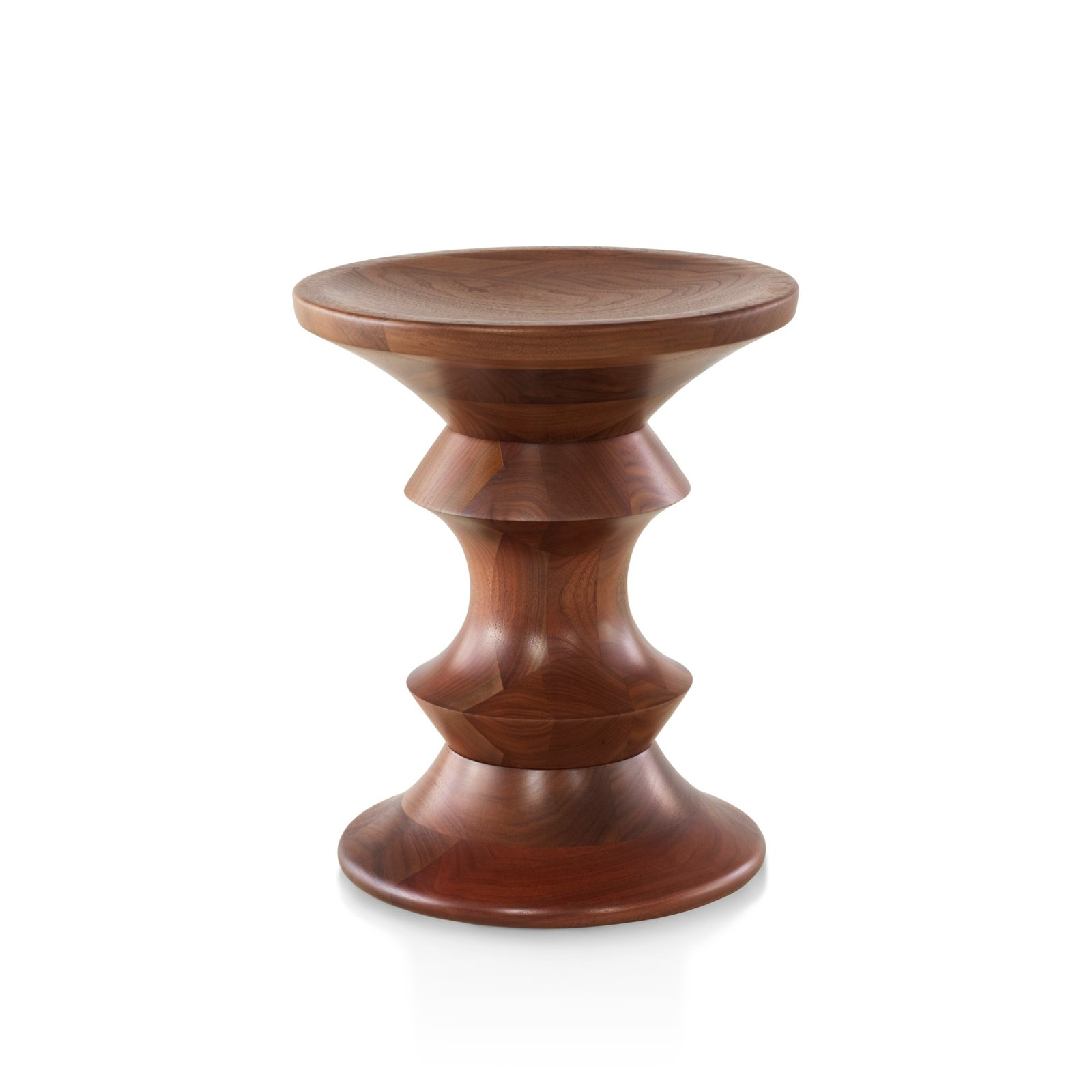 Eames Walnut Stool A Shape By Charles Amp Ray Eames For