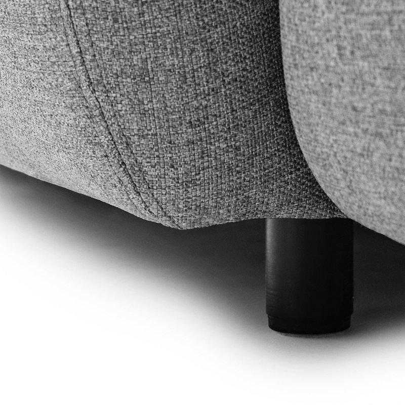 Swell Sofa 2 Seater, leg detail.