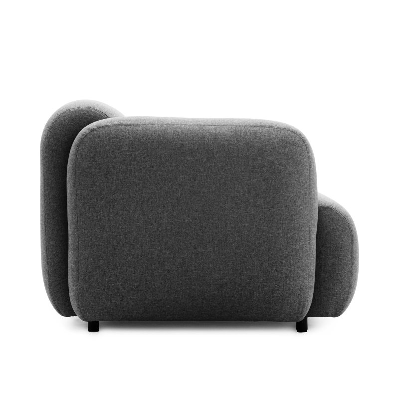 Swell Sofa 2 Seater, side view.