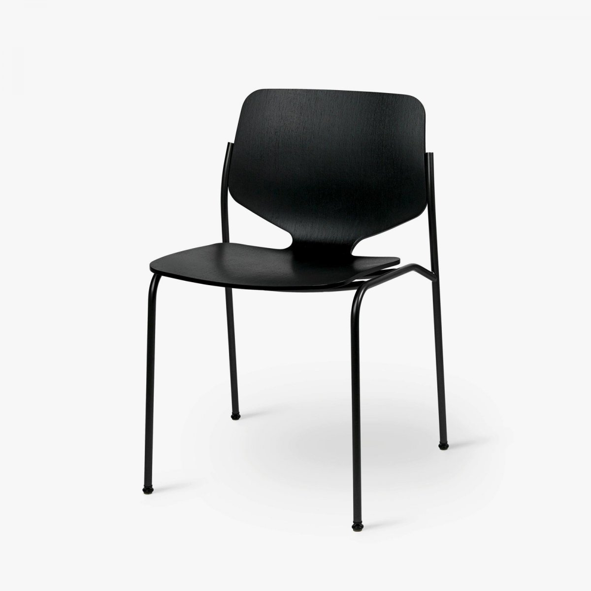 Nova Chair, black stain.