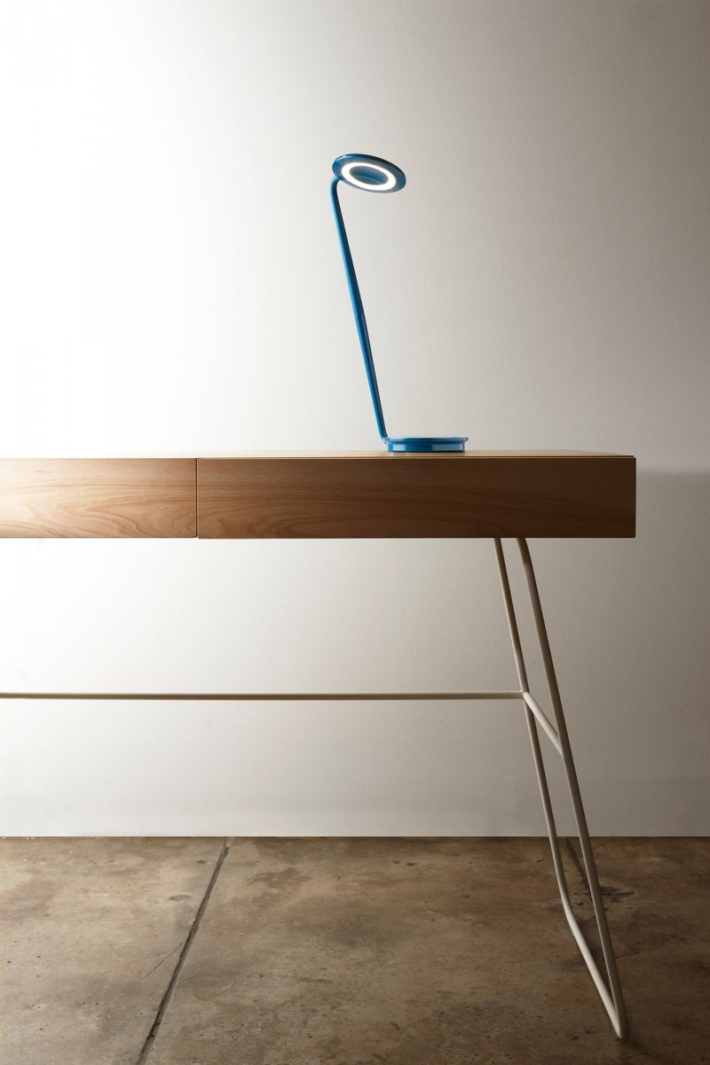 Pixo work lamp, azure.