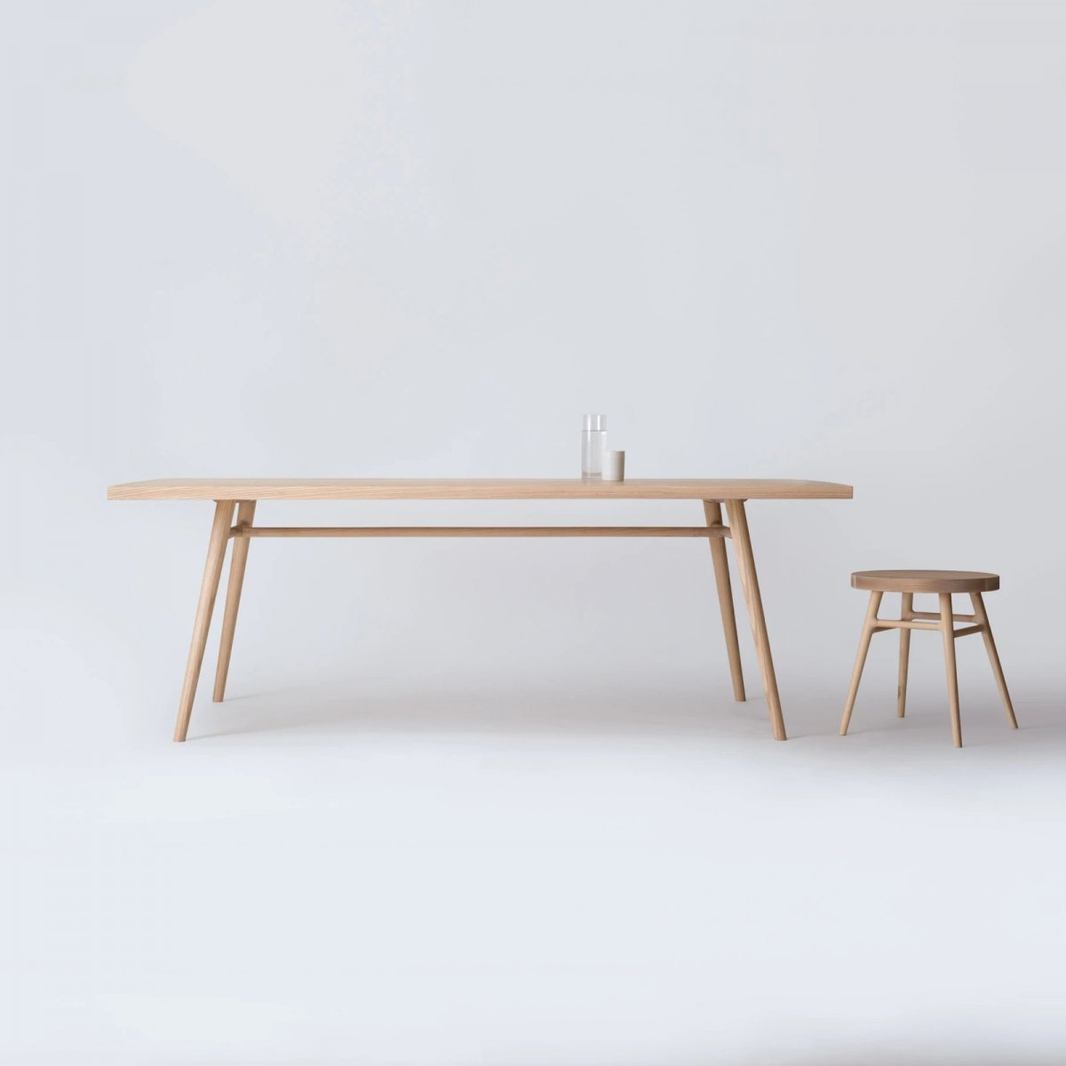 Bough Table and Stool.