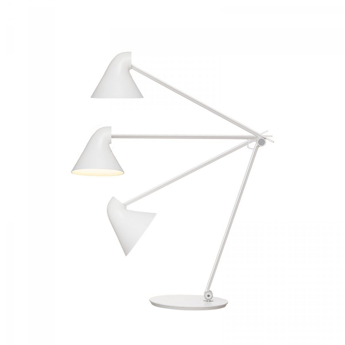 NJP Table desk lamp, white.