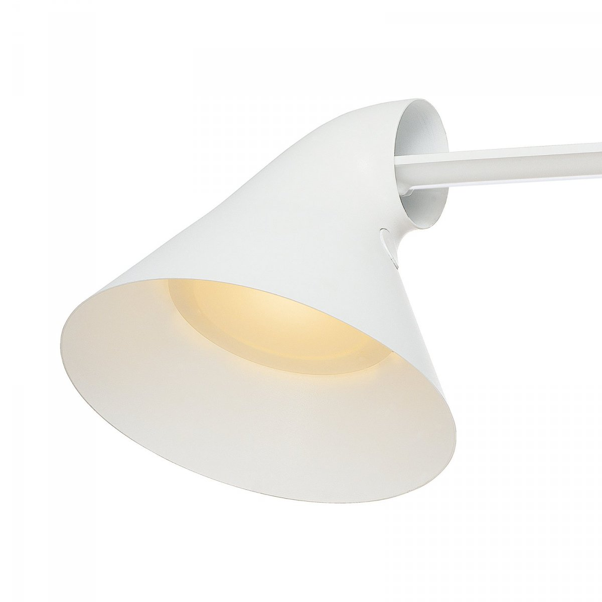 NJP Table desk lamp, white, detail.