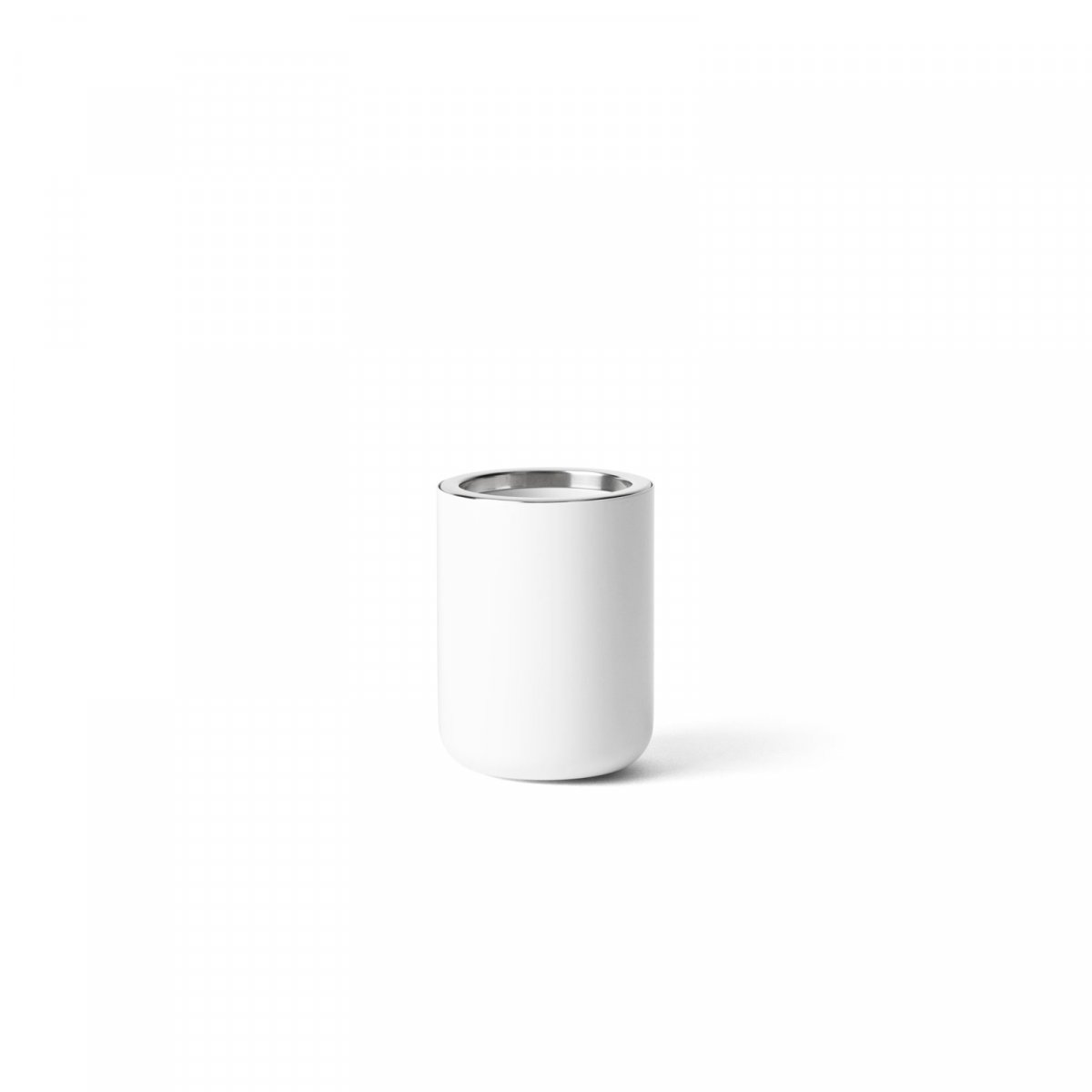 Toothbrush Holder, white.