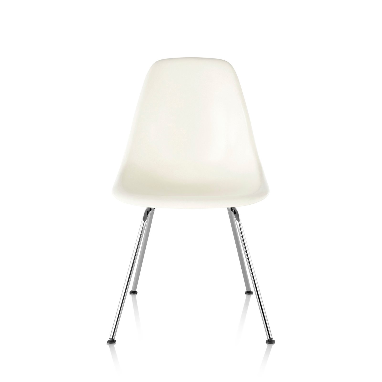 Herman Miller Eames Molded Plastic Chair eames molded plastic side chair 4-leg basecharles & ray eames