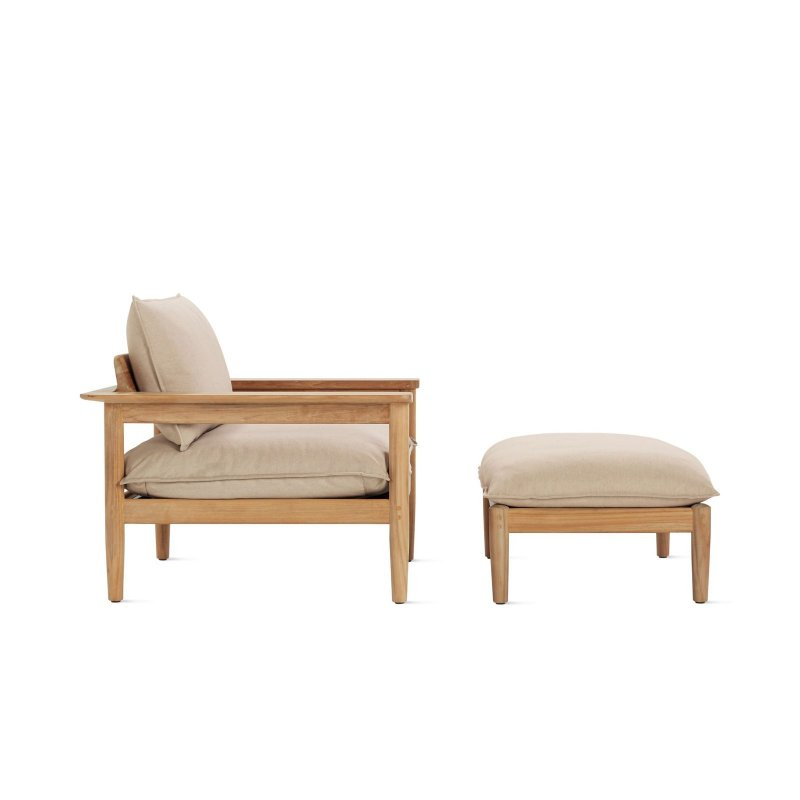 Terassi Lounge Chair and Ottoman