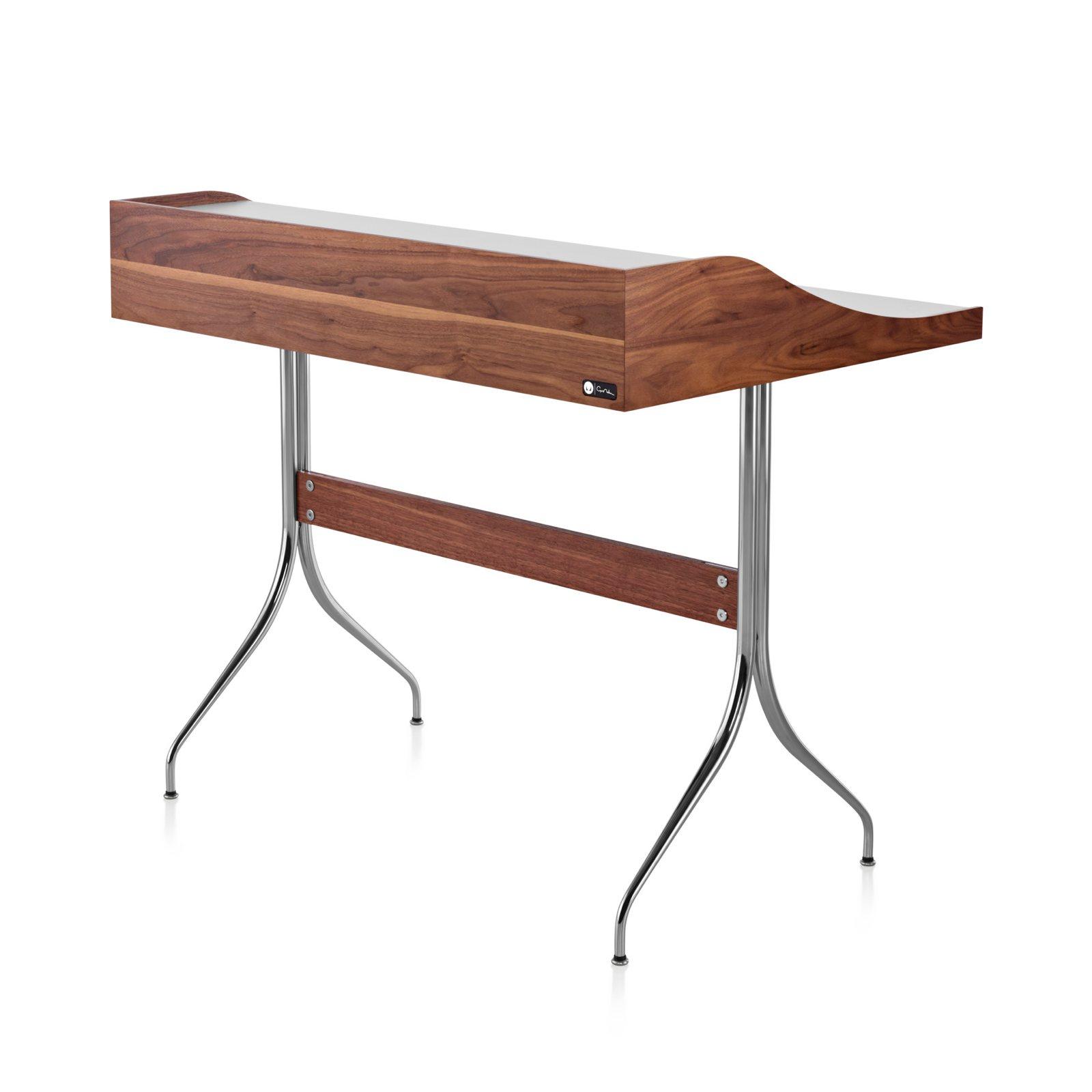 Nelson Swag Leg Desk, Back View.