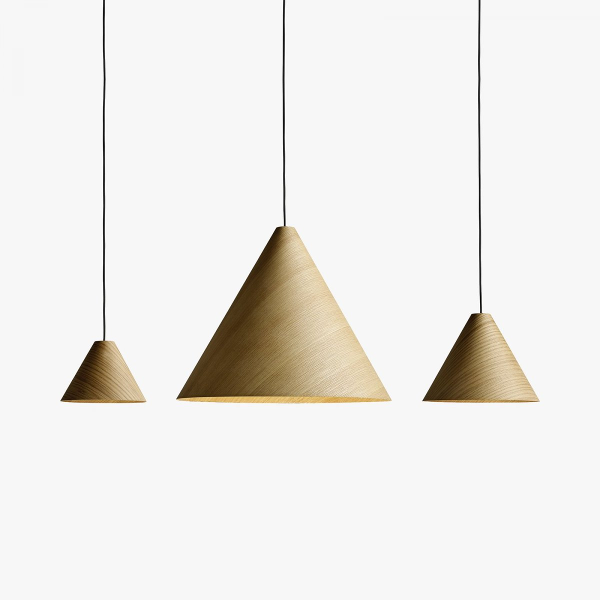 30 Degrees pendant lamps with Cord Sets.