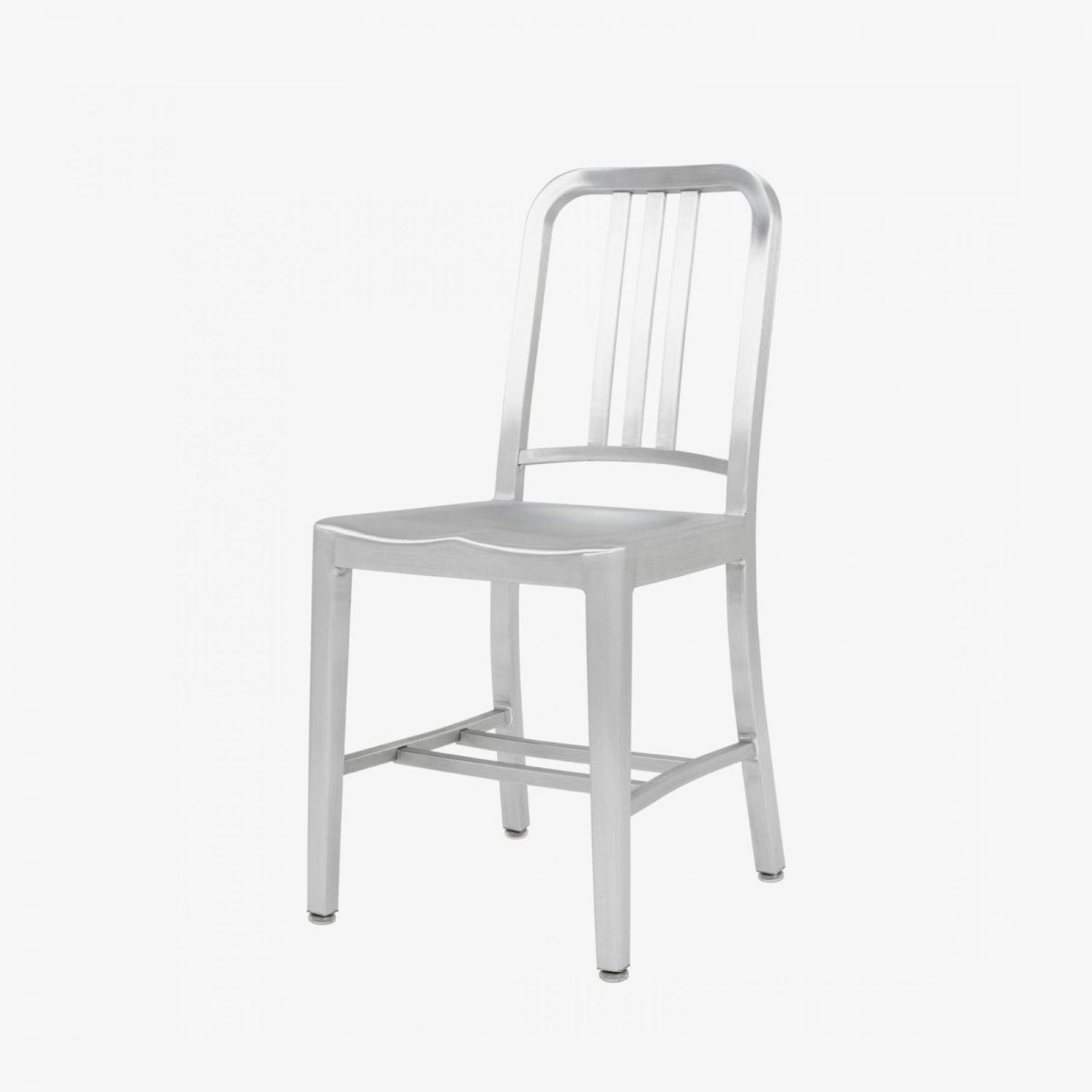 Navy Chair, hand-brushed.
