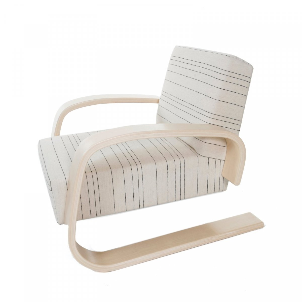 "Armchair 400 � Tank� Lounge Chairs From Artek: Armchair 400 ""Tank Chair"" By Alvar Aalto For Artek"