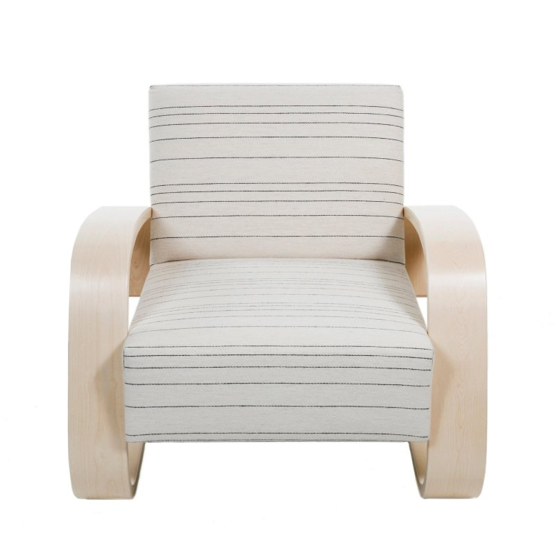"""Armchair 400 """"Tank Chair"""", front view."""