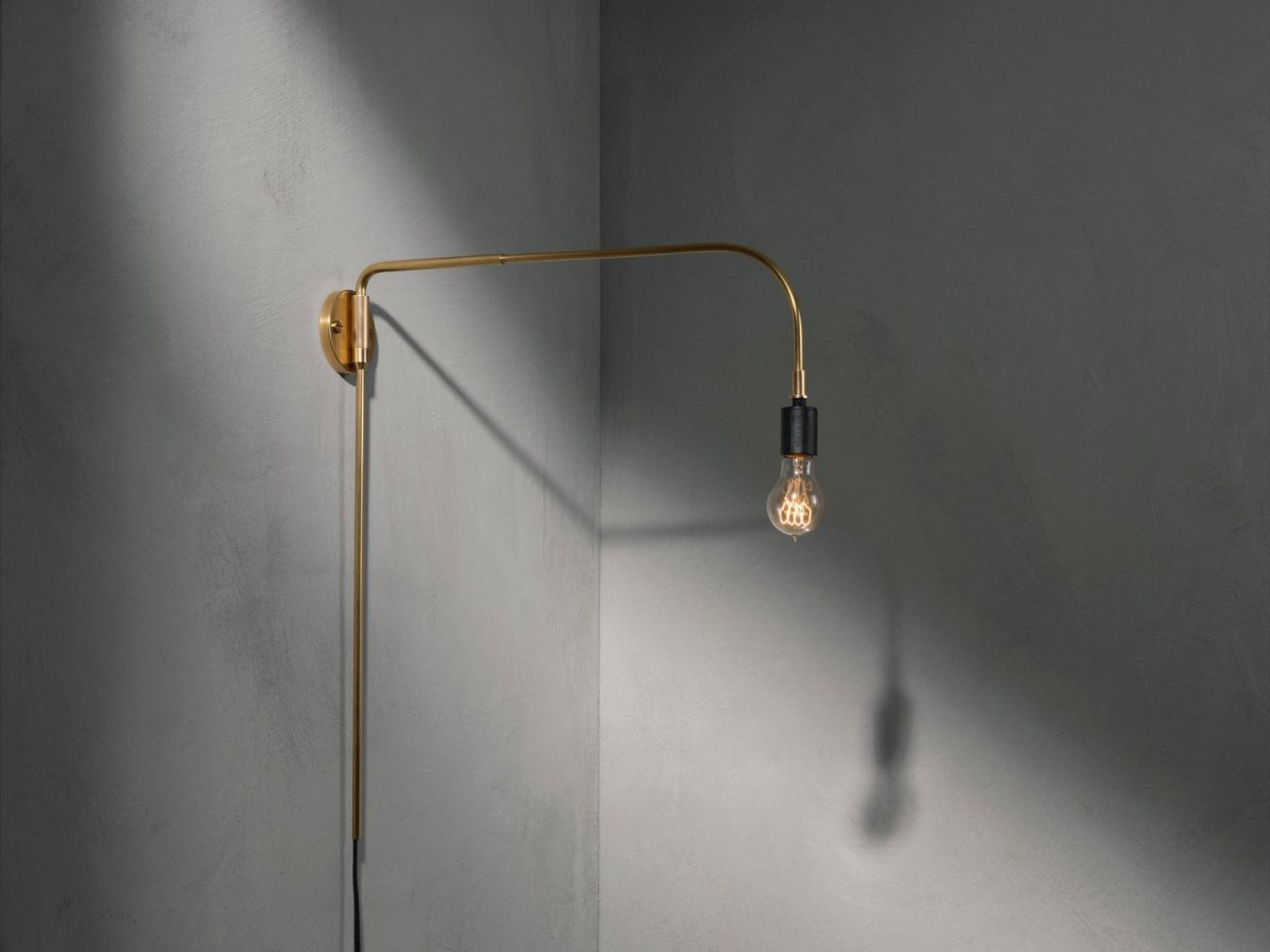 Warren Lamp, brass.