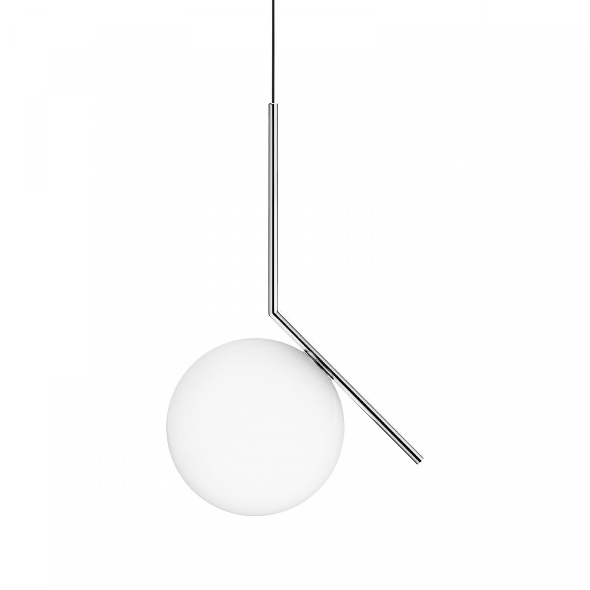 IC S2 pendant lamp, chrome.