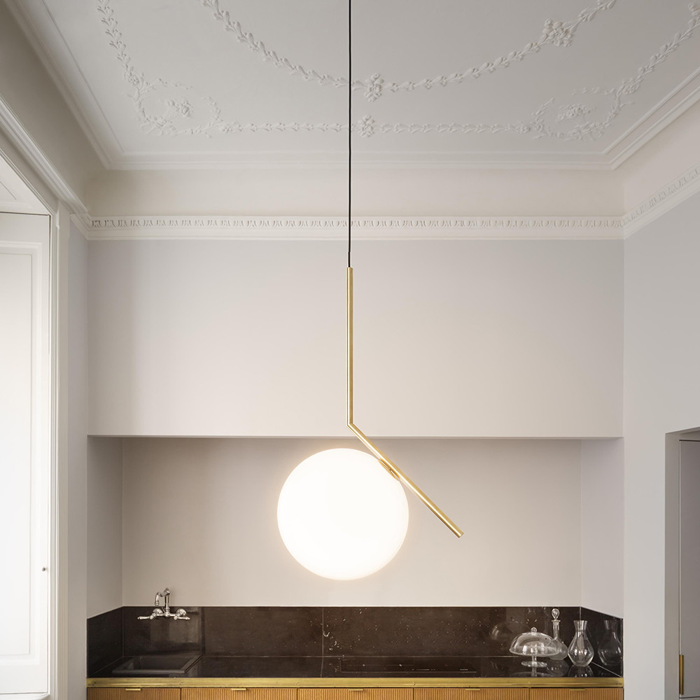 Ic s pendant lamp by michael anastassiades for flos up for Flos bathroom light
