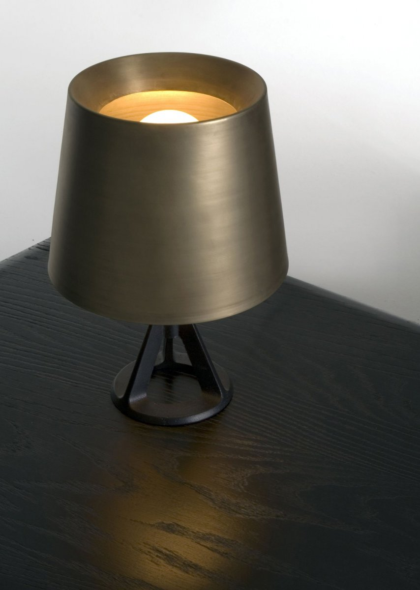 Base Table Light Brass.