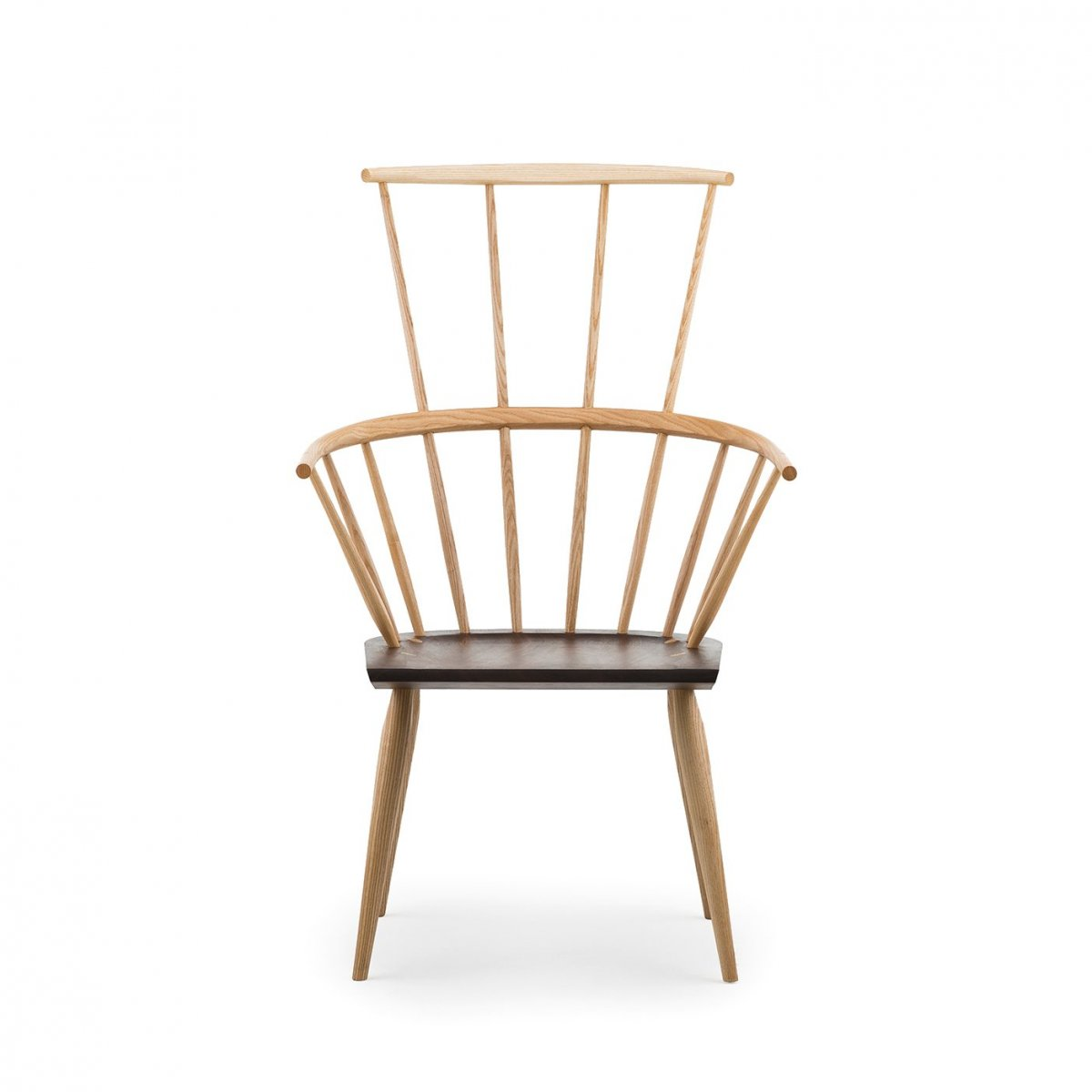 359 Kimble Windsor Chair, front view.