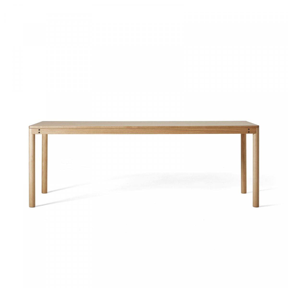 Dowel Table, oak.