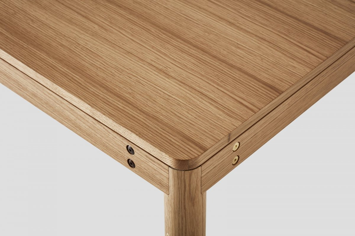 Dowel Table, detail.