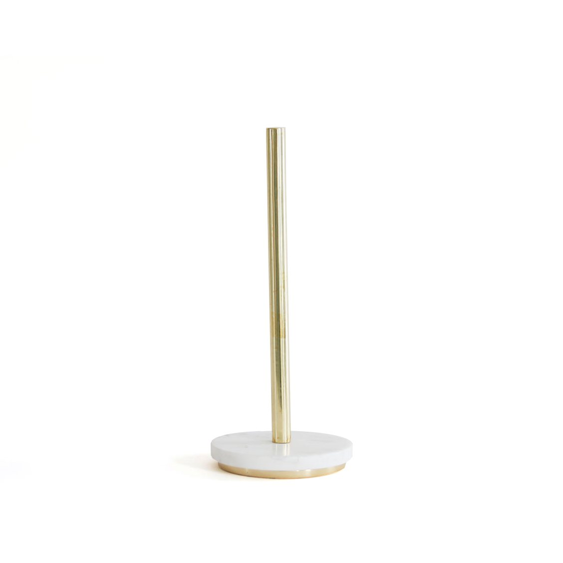 Mara Paper Towel Holder, brass.