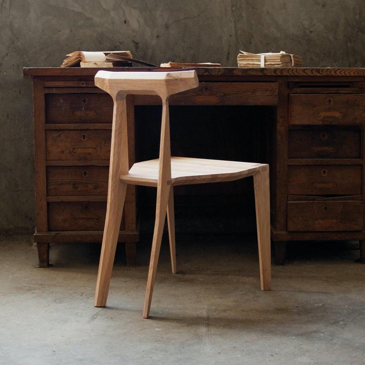 Orca Chair, oak.