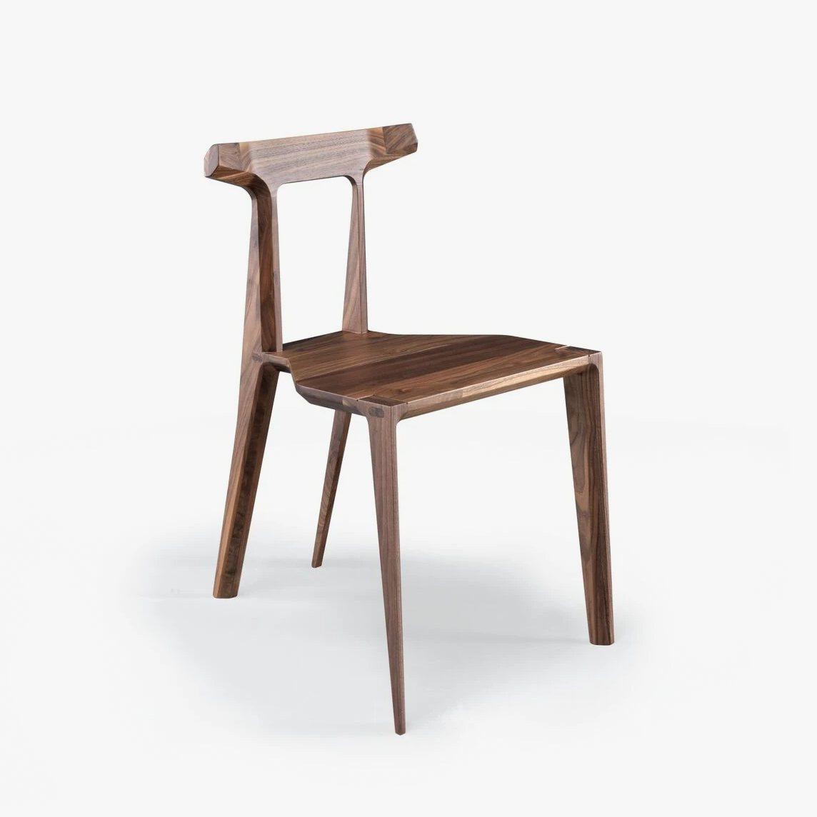 Orca Chair, walnut.