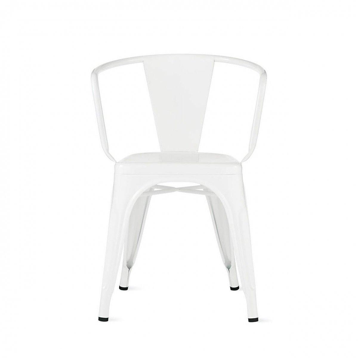 A56 Armchair, white.