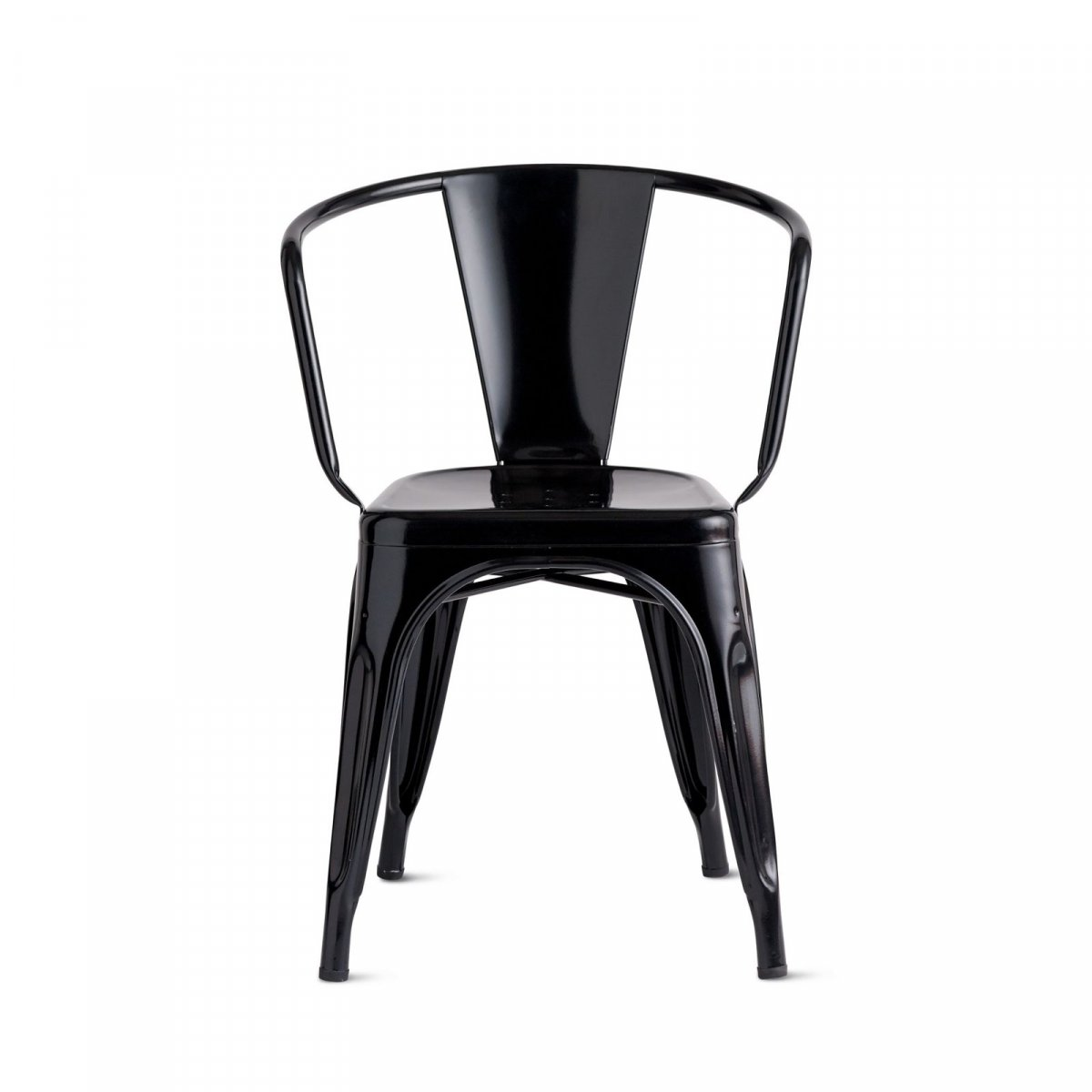 A56 Armchair, black.