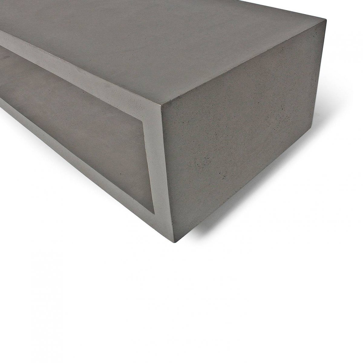 Monobloc TV Bench, detail.