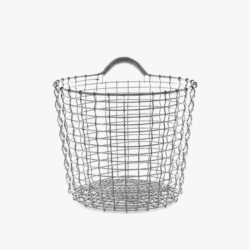 Handwoven Wire Baskets, Bin Series