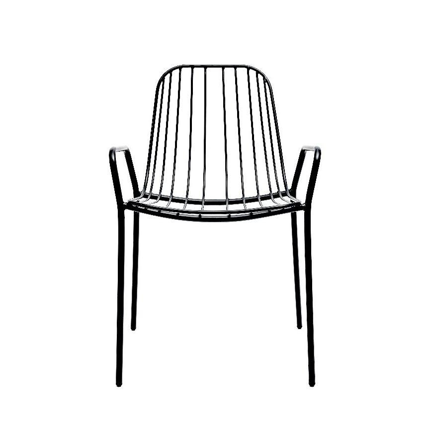 Resonate Armchair, black.