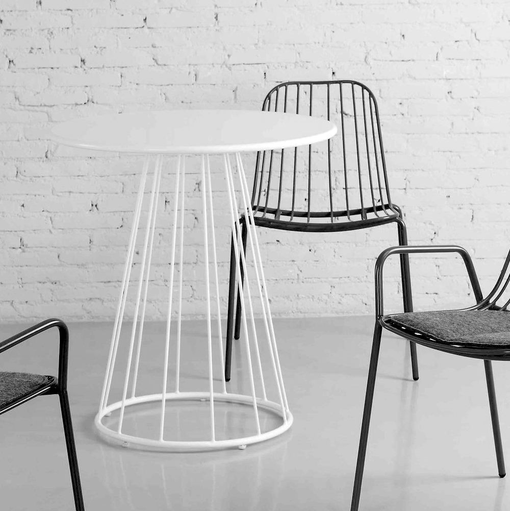 Resonate Armchairs and Café Table.