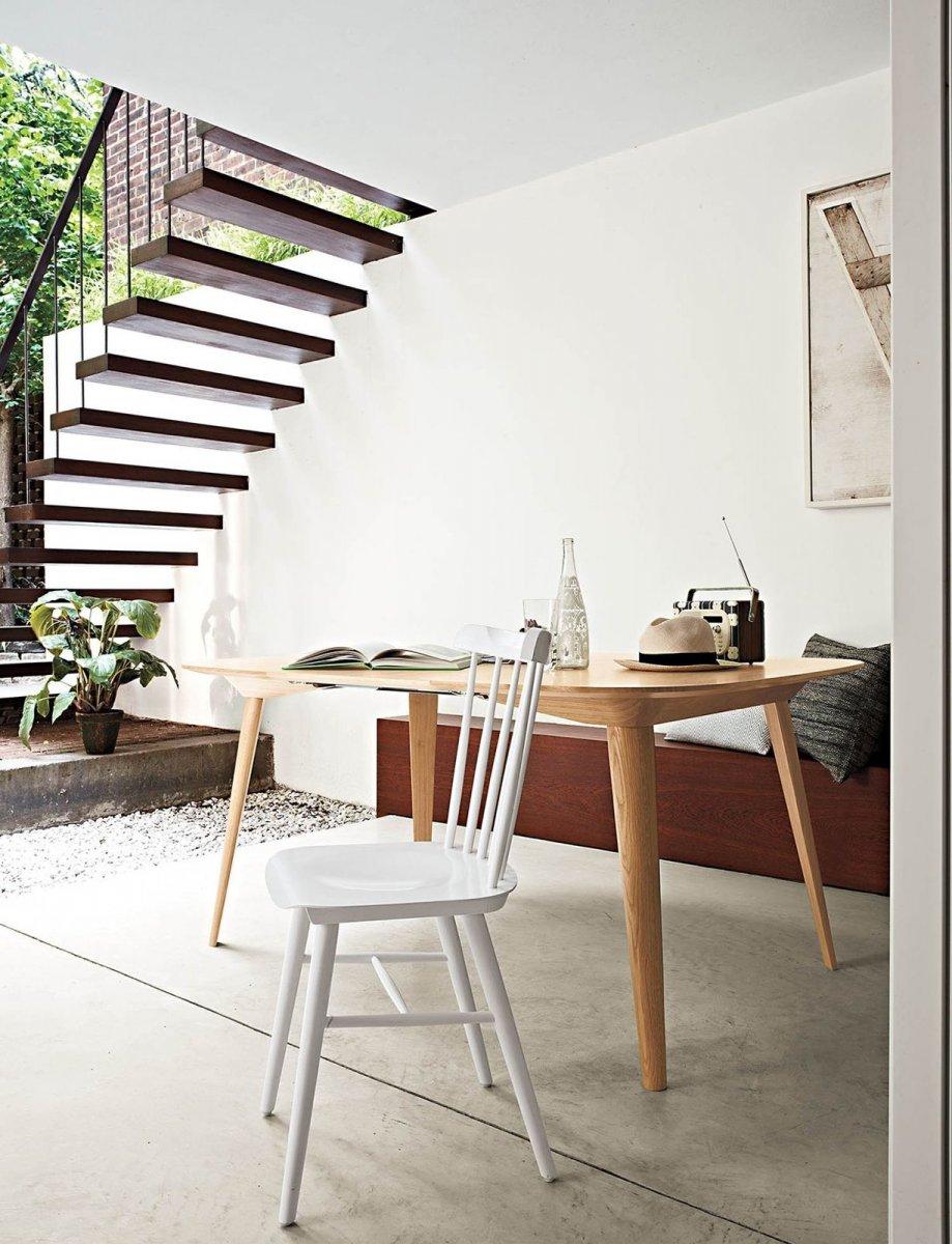 Chair Ironica, white.