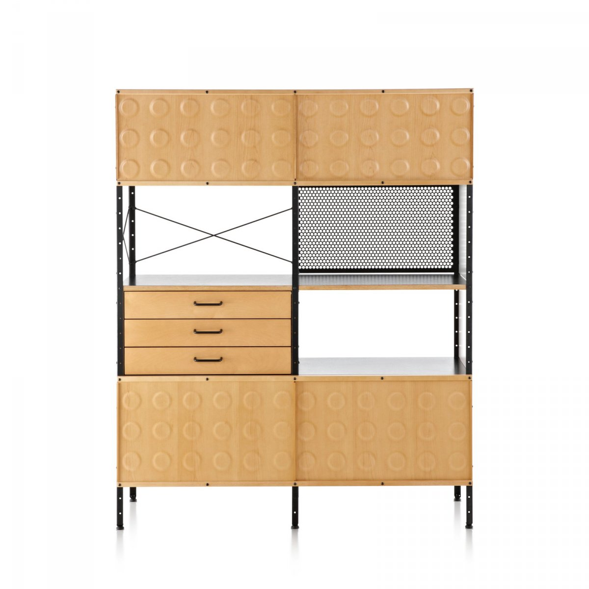 eames storage unit 4 215 2 by charles ray eames for 14679 | eames storage unit 4 x 2 19 14679