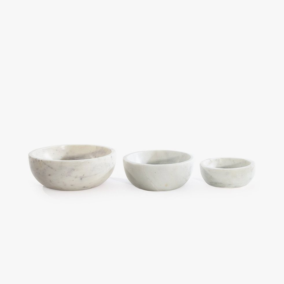 Mara Serving Collection - Bowl White.