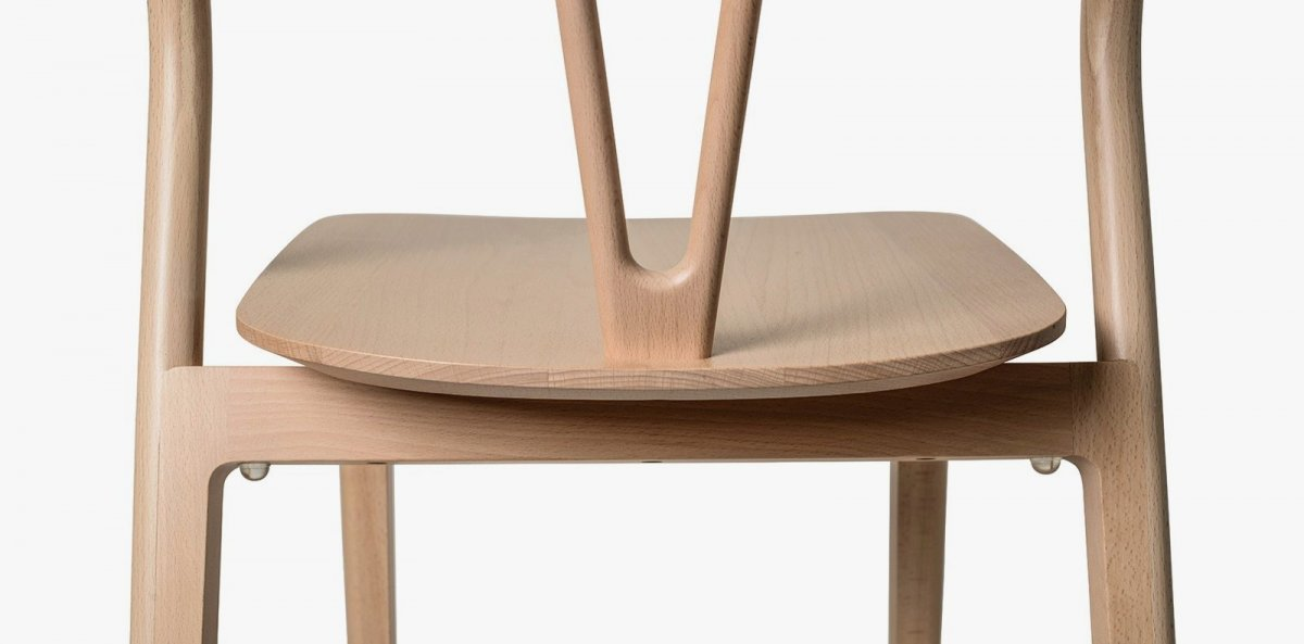 Flow Chair, back detail.