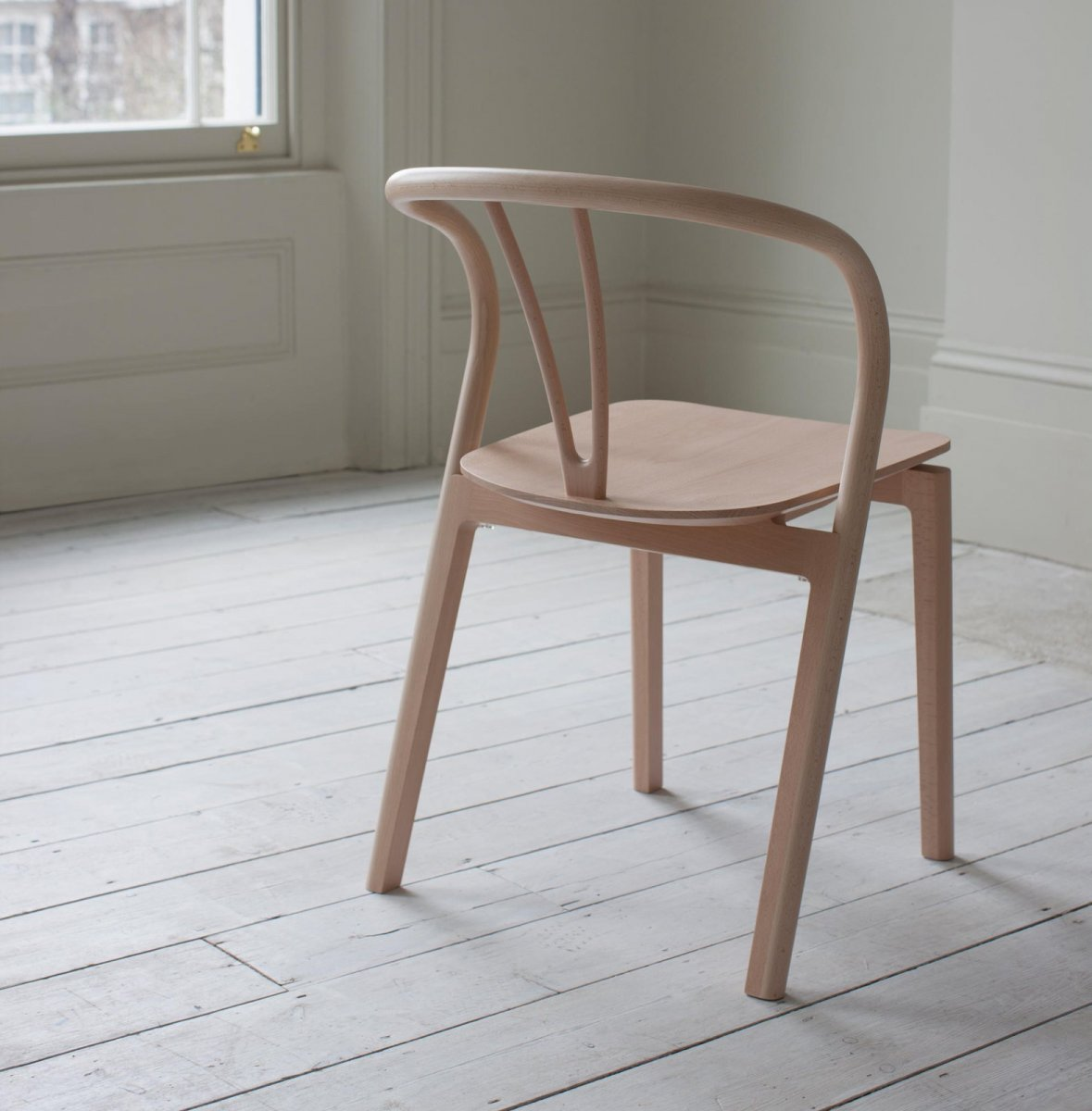 Flow Chair, back view.