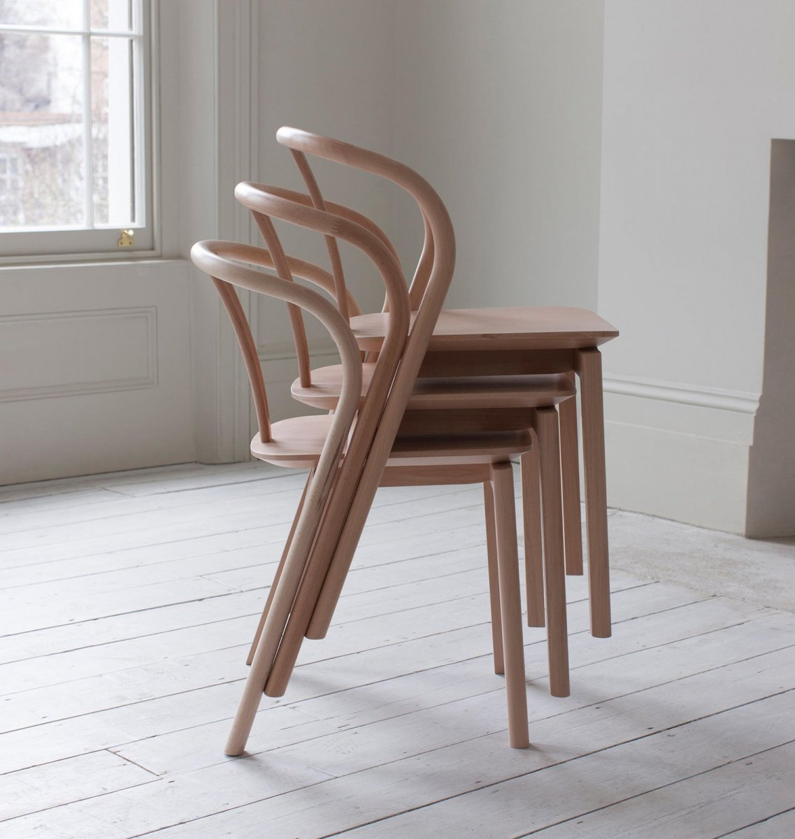 Flow Chairs, stacked.