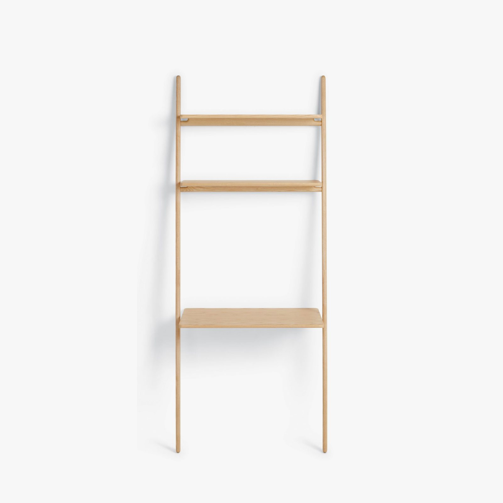 Folk ladder desk shelving by norm architects for design for Design within reach desk