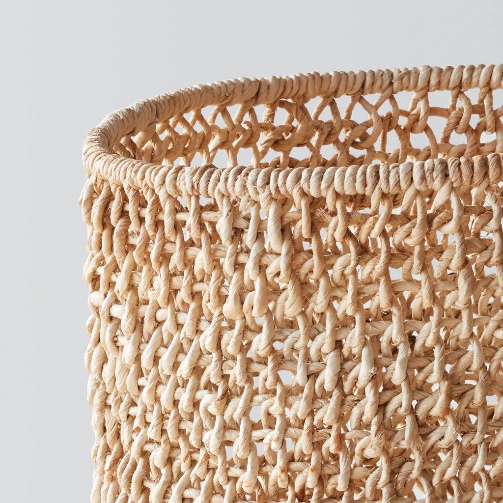 Opaka Storage Basket, detail.